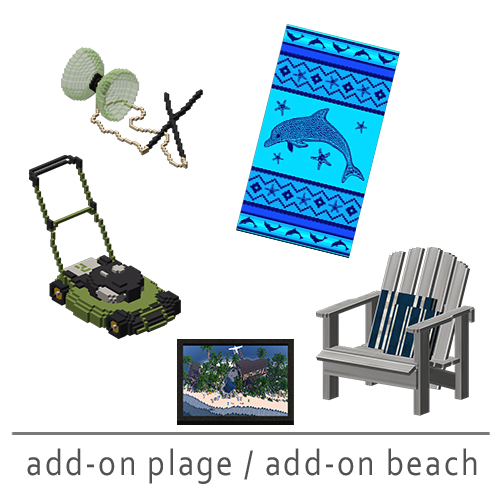add-on plage / add-on beach